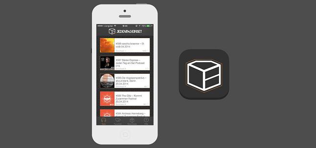 JedenTagEinSet App