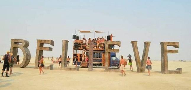 Burning Man belive
