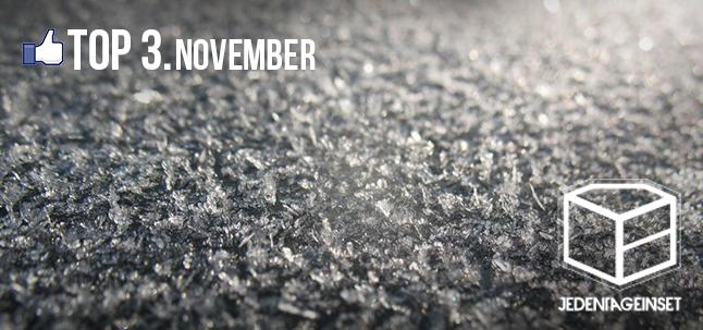 top 3 - november
