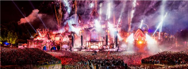 Tomorrowland 2015 Die Sets 171 Jeden Tag Ein Set